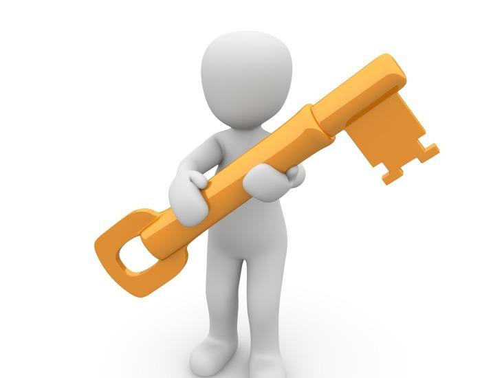 Fonte: https://pixabay.com/pt/chave-acesso-senha-c%C3%B3digo-1013662/