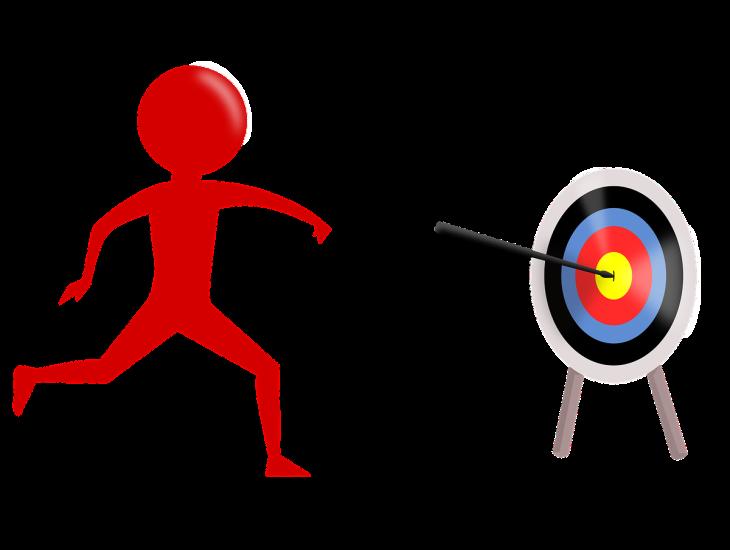 Fonte: https://pixabay.com/illustrations/target-purpose-goal-aim-success-3814609/